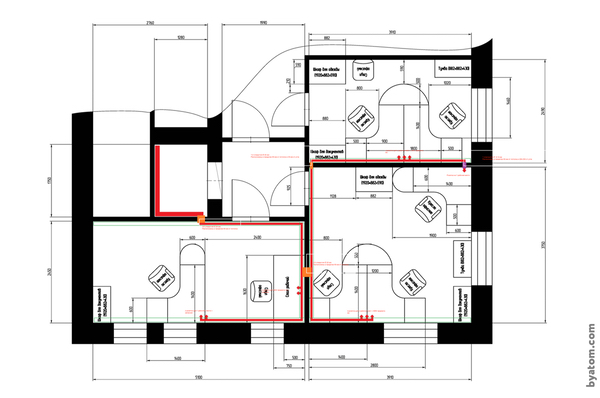 Office plan.